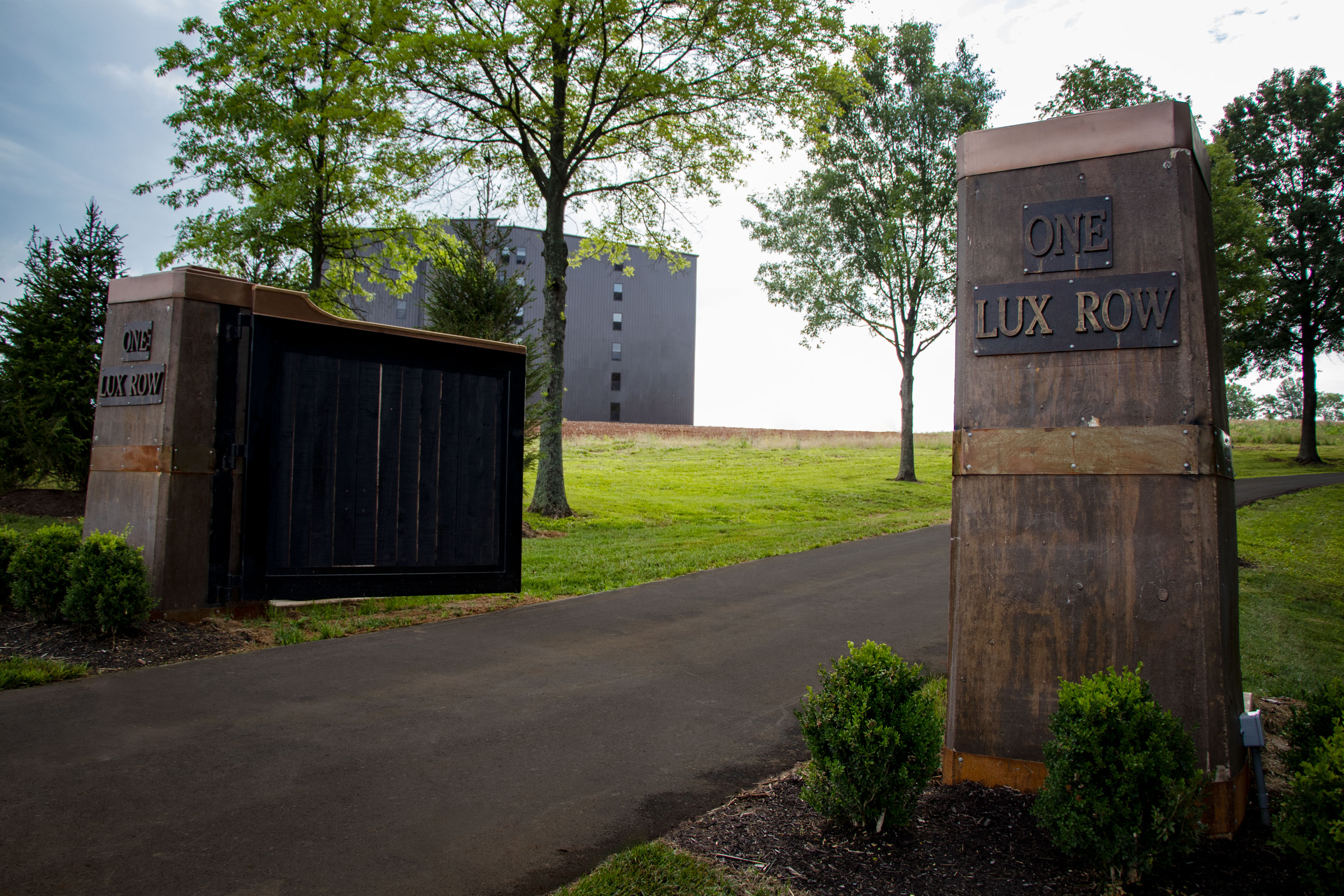 Lux Row Distillers gate