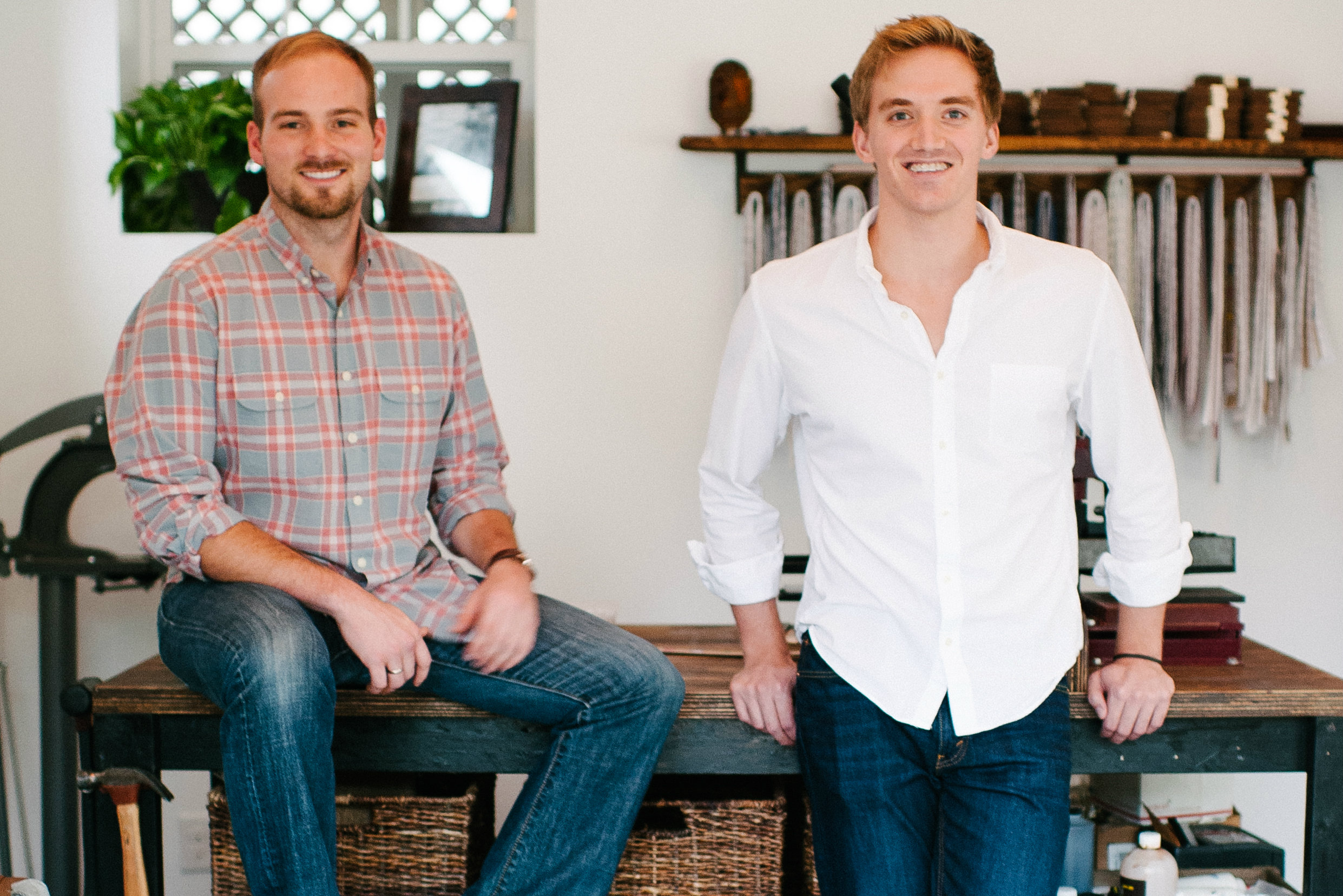 Clayton & Crume founders Clay Simpson and Tyler Jury