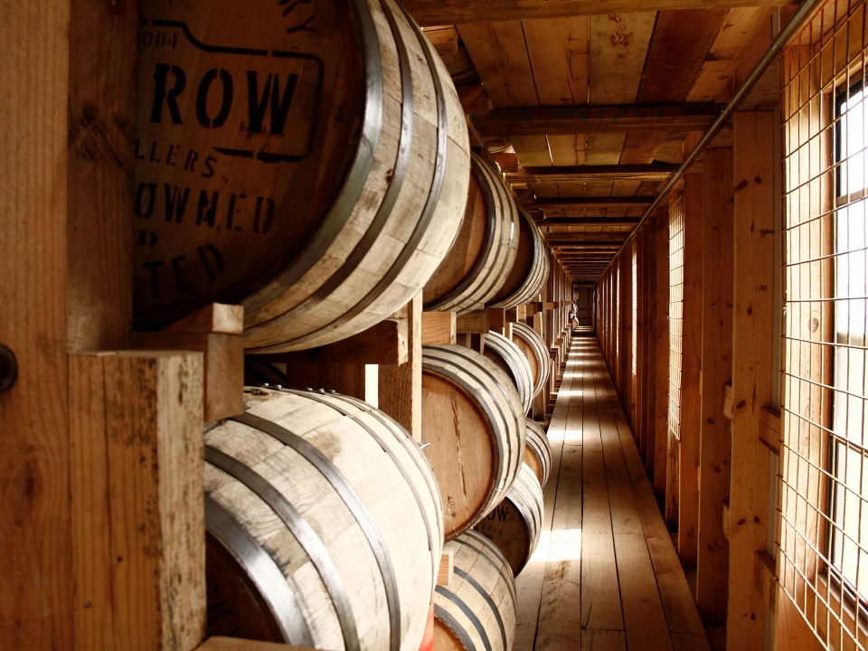 Lux Row Distillers Rickhouse