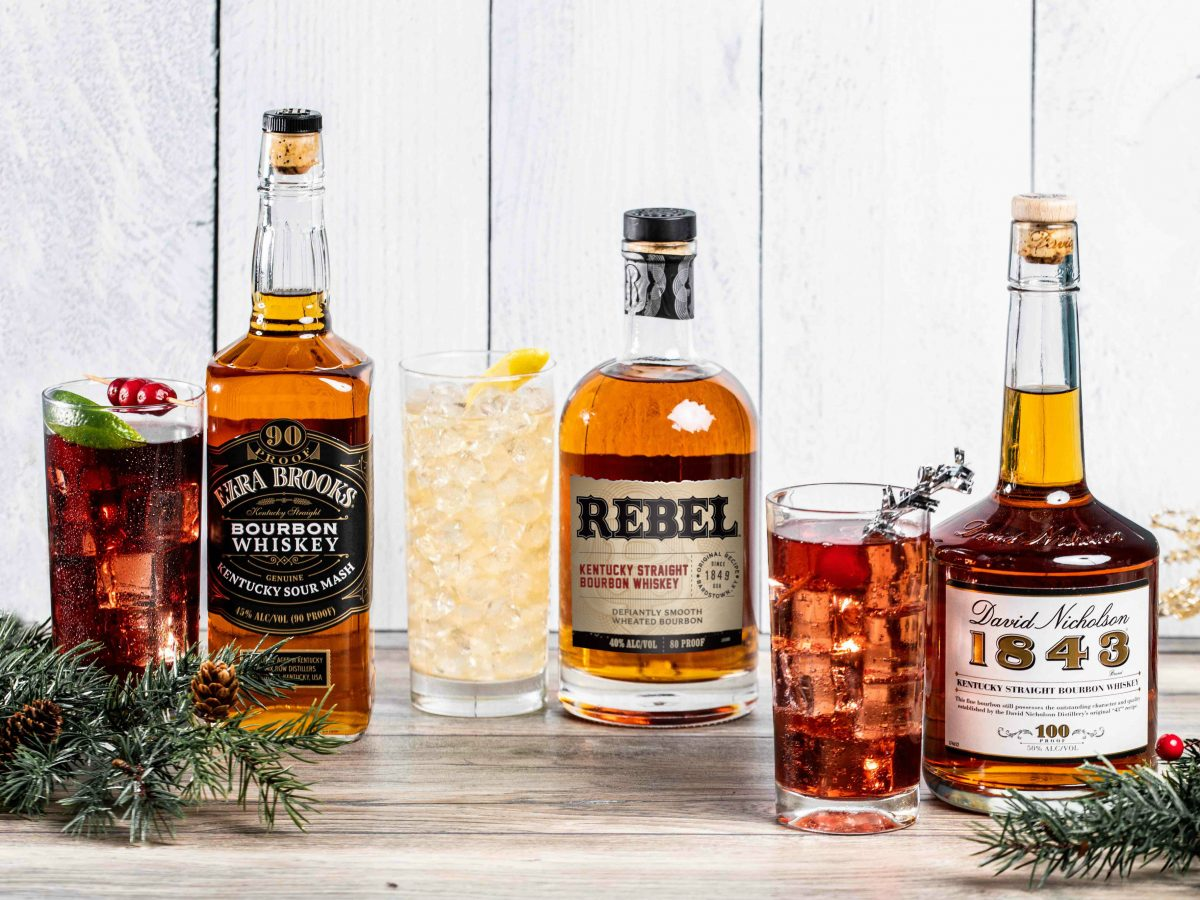 Lux Row Distillers holiday cocktails