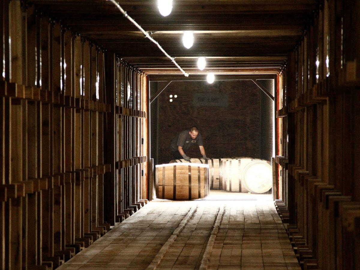 Lux Row Distillers Rickhouse