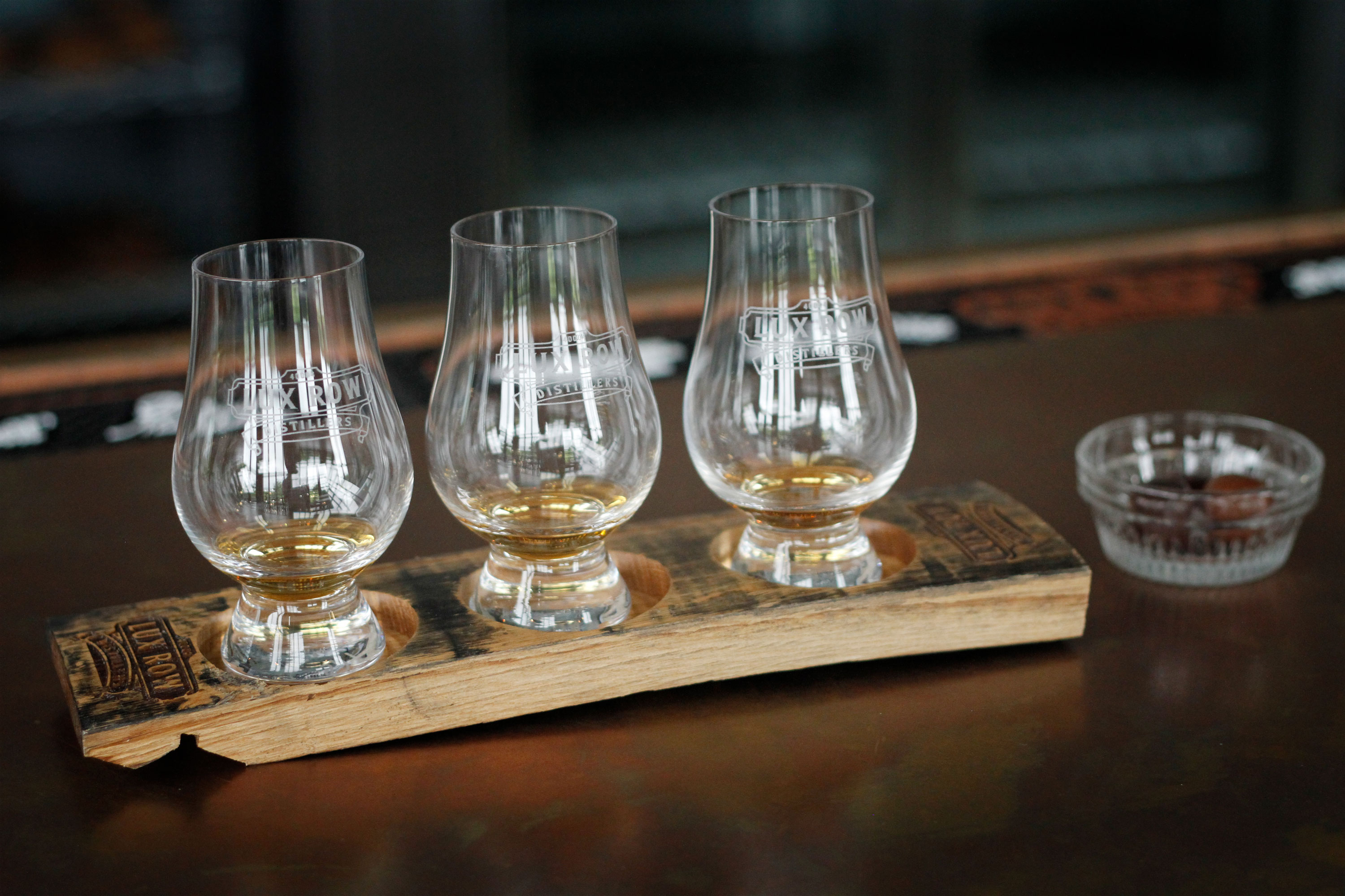 Lux Row whiskey tasting